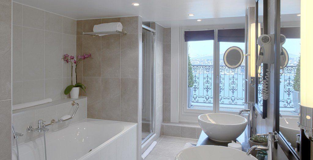 salles de bains d'hôtels