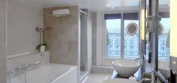 S'inspirer des salles de bains d'hôtels
